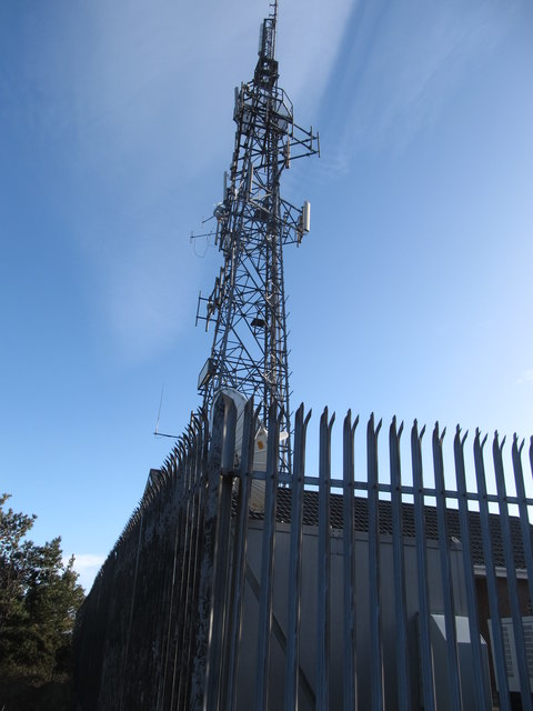 The Drinnahilly Relay Transmitter