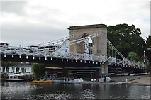 SU8586 : Marlow Bridge - south pier by N Chadwick
