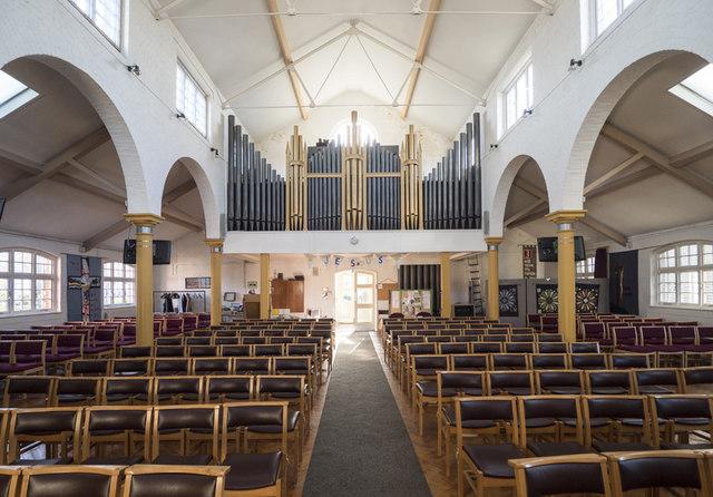 St Saviour, MacDonald Road, Forest Gate - West end