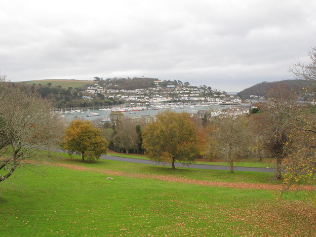 River Dart and Kingswear from Britannia Royal Naval College