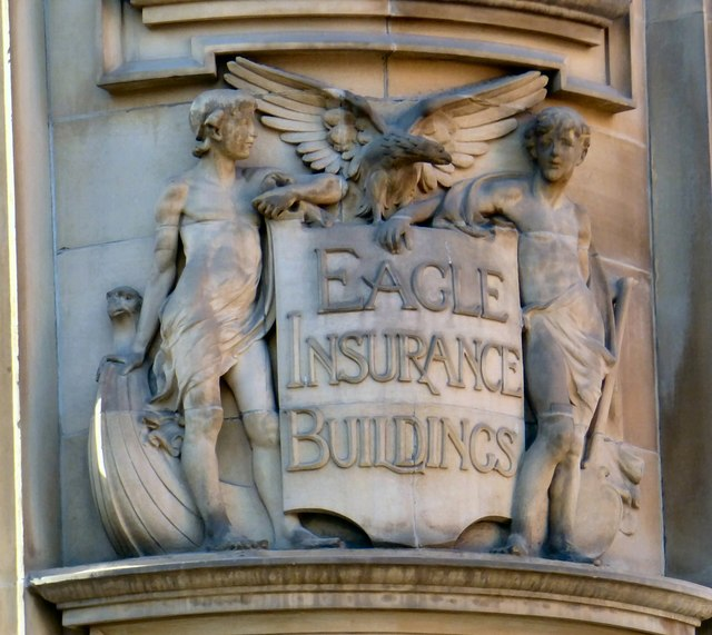 Eagle Insurance Buildings: Architectural detail (1)