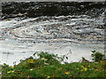 NS3823 : Foam patterns on the River Ayr near Oswald's Bridge by Humphrey Bolton