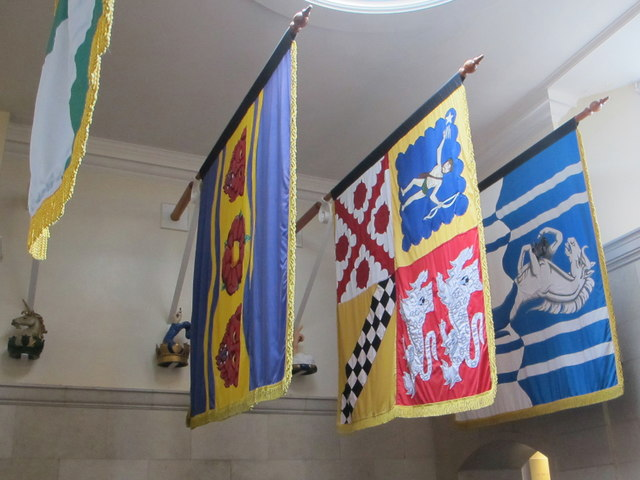 Banners of dead admirals, Britannia Royal Naval College