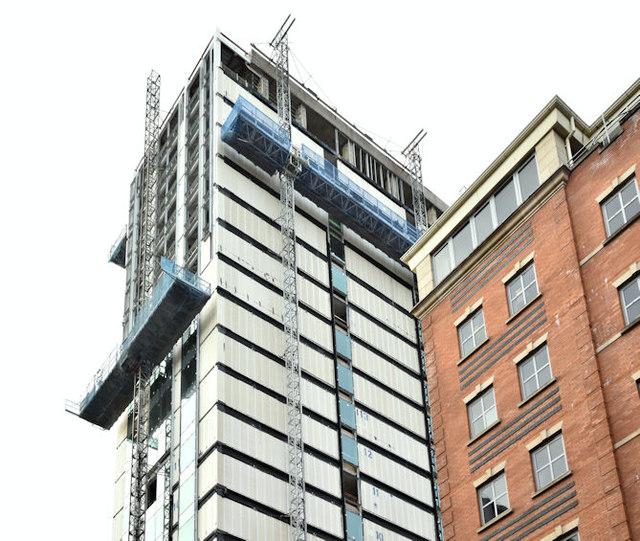 Windsor House redevelopment, Belfast - November 2017(10)