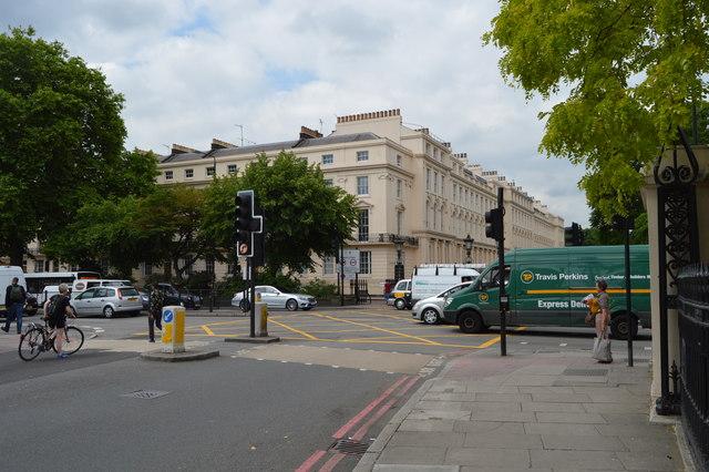 Park Crescent, Marylebone Rd junction