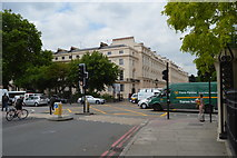 TQ2882 : Park Crescent, Marylebone Rd junction by N Chadwick