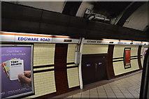 TQ2781 : Edgware Road Underground Station (Bakerloo Line) by N Chadwick