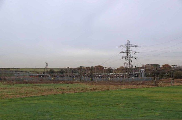 Electricity Substation Near London Gateway