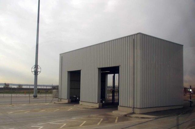 Optical Truck Scanner at DP World