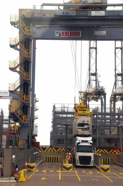 Auto Lift Container Crane