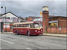 SD8010 : Leyland Tiger Cub at Bolton Street Station by David Dixon