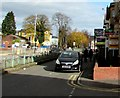 ST3187 : Estate agents' boards on a Newport corner by Jaggery