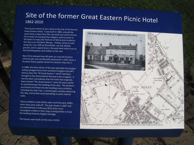Site of The Great Eastern Hotel