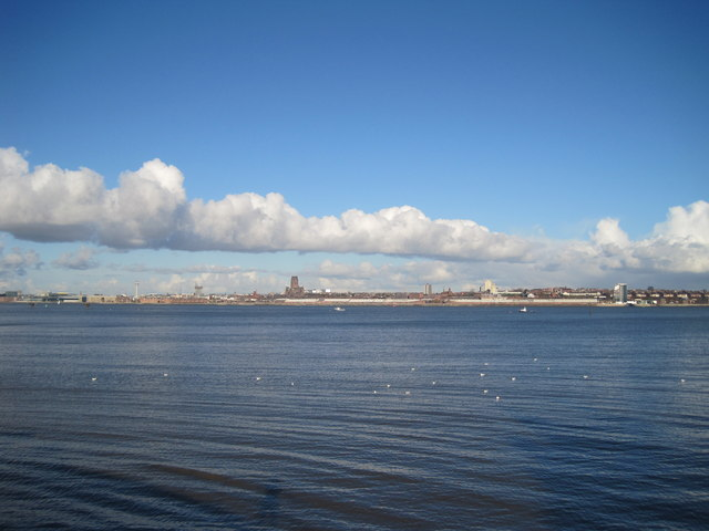 Across the Mersey to Liverpool