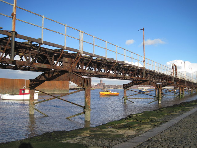 Rock Ferry Slipway and Pier