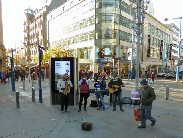 Christmas Buskers