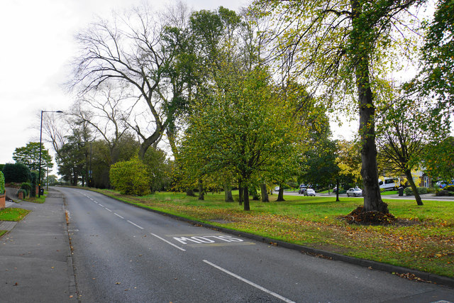 Green space by Little Sutton Road
