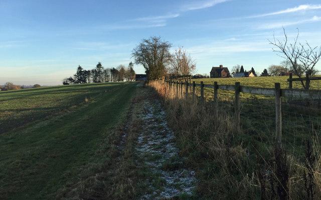 Rudfyn Manor, a commanding position