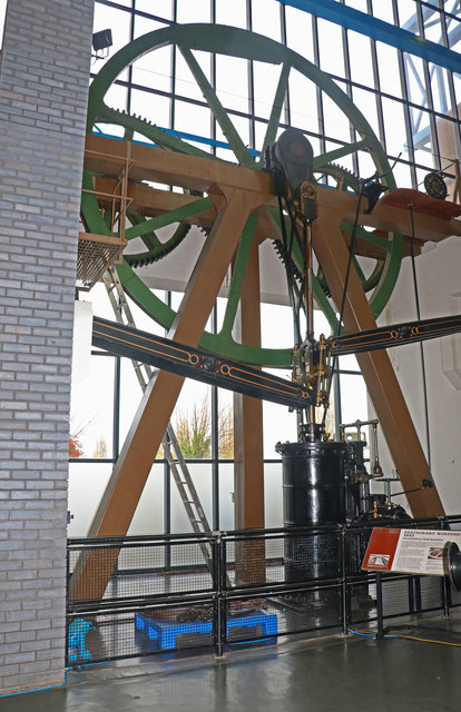 National Railway Museum - stationary steam engine