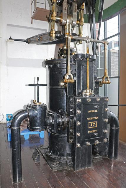 National Railway Museum - stationary steam engine