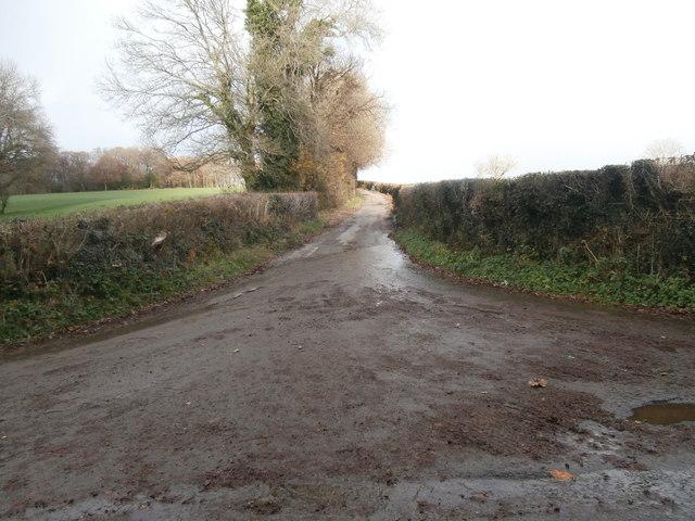 Lane off Heol Ddu, Llantrisant