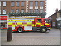 TQ1996 : Fire engine on Shenley Road, Borehamwood by David Howard