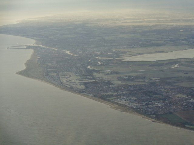Great Yarmouth on a frosty morning