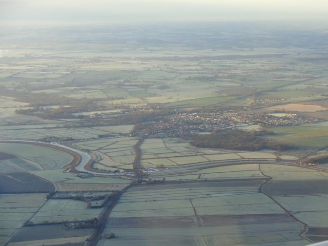 Acle from the air