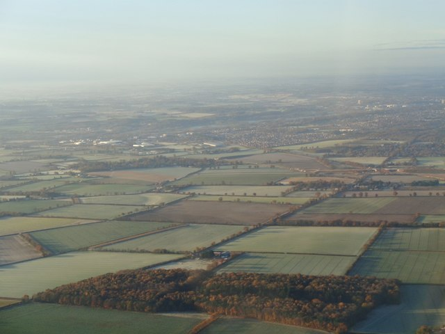Norfolk Countryside from the air