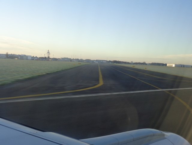 Landing at Norwich
