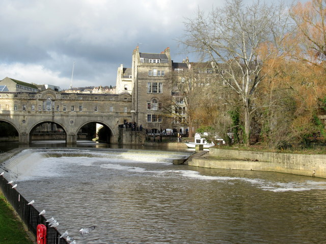 Pulteney Bridge & Weir Bath (2)
