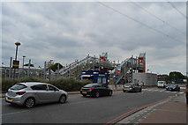TQ4080 : Royal Victoria DLR Station by N Chadwick