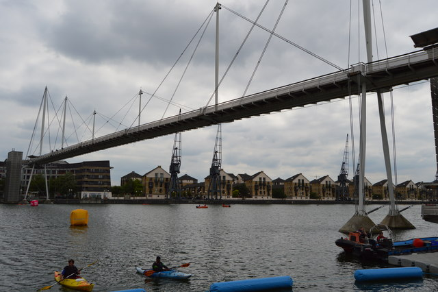 Footbridge, Royal Victoria Dock