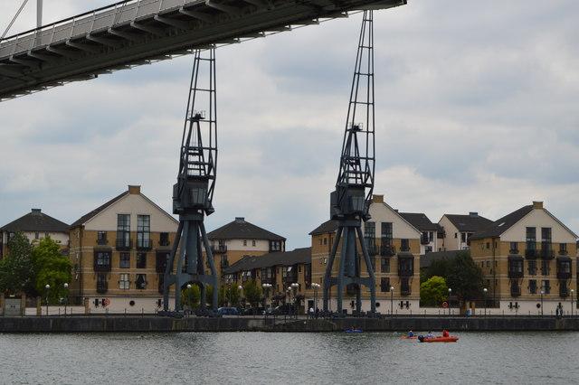 Cranes, Royal Victoria Dock