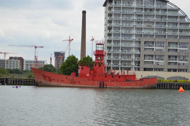 Lightship 93, Victoria Dock