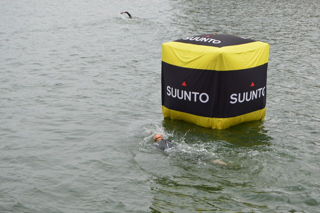 Rounding a buoy