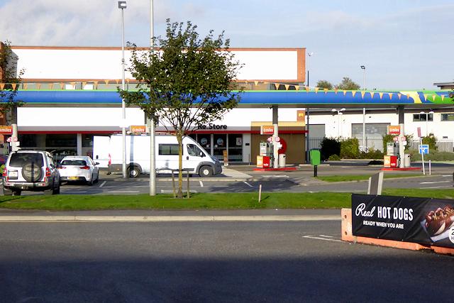 Port of Dublin, Topaz Fuel Station at Tolka Quay