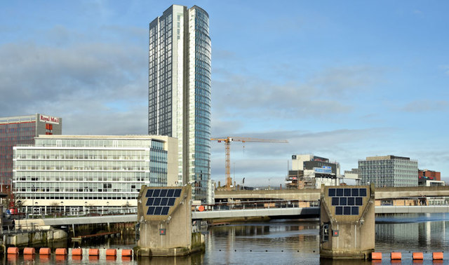 City Quays, Belfast - November 2017(2)