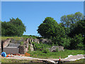 SJ3049 : Bersham ironworks - industrial archaeology by Stephen Craven