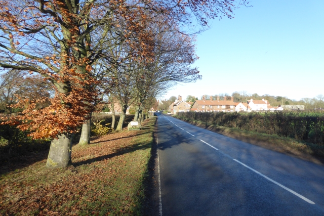 Entering Askham Richard