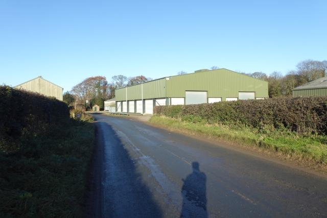 Industrial buildings in Hutton Wandesley