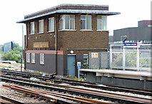 TQ2775 : Clapham B Signal Box by Thomas Nugent