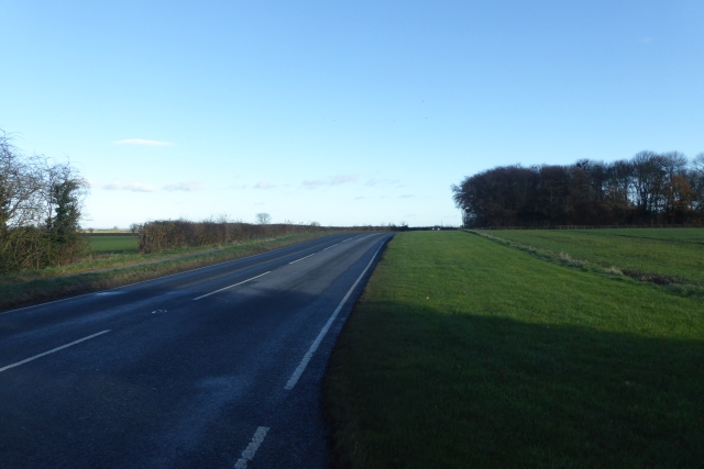 York road west of Bilton in Ainsty