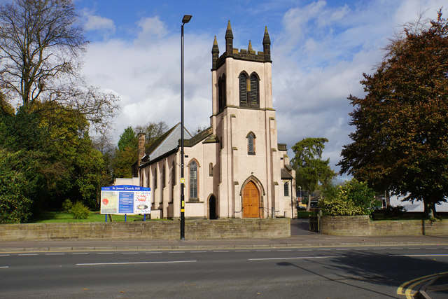 St James' Church, Hill