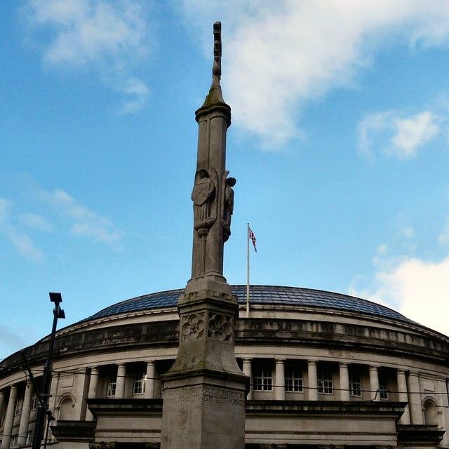 St Peter's Cross: detail