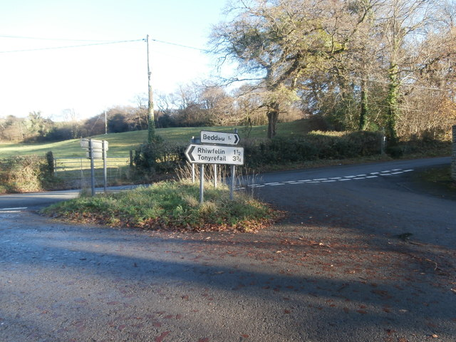 Junction of Heol Ddu and Castellau Rd, Llantrisant