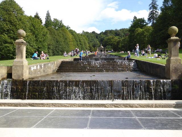 The cascade, Chatsworth