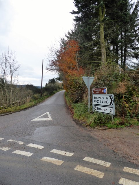 Road junction at Blairydryne