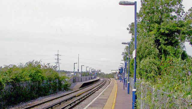 Northfleet station, 2005