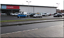 SS8983 : Home Bargains in Pentre Felin Retail Park, Tondu  by Jaggery
